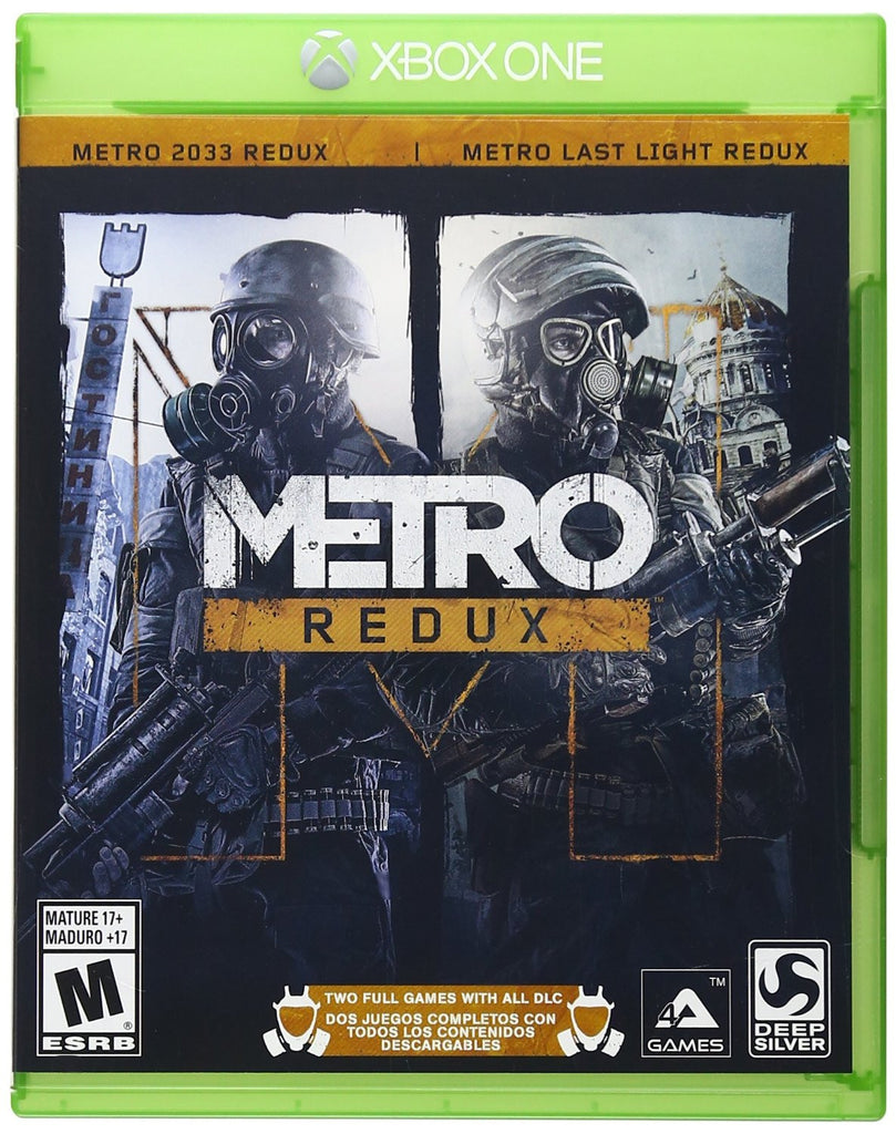 Metro Redux For Xbox One (Physical Disc)