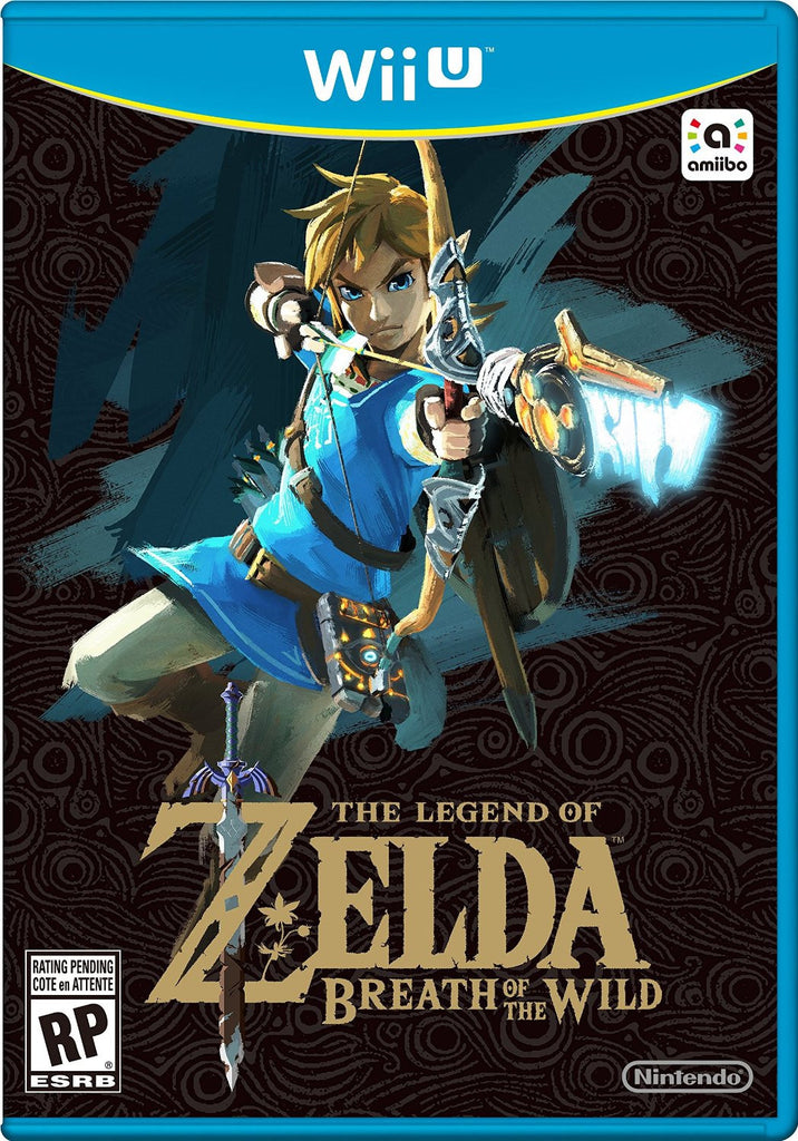 The Legend of Zelda: Breath of the Wild For Wii U (Physical Disc)