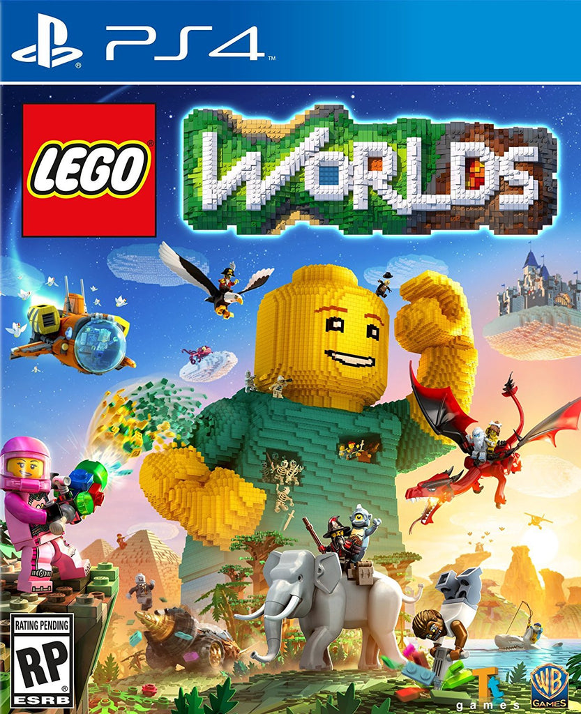 LEGO Worlds For PlayStation 4 (Physical Disc)
