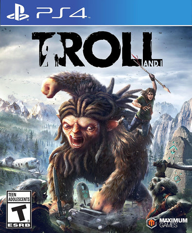 Troll & I For PlayStation 4 (Physical Disc)