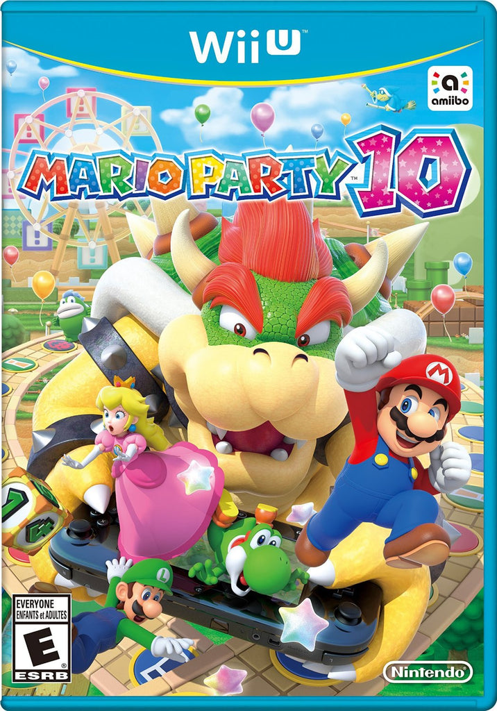 Mario Party 10 For Wii U (Physical Disc)