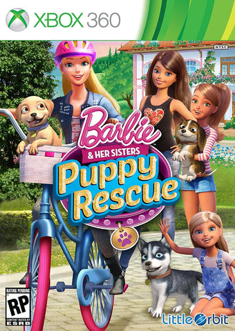 Barbie and Her Sisters: Puppy Rescue For Xbox 360 (Physical Disc)