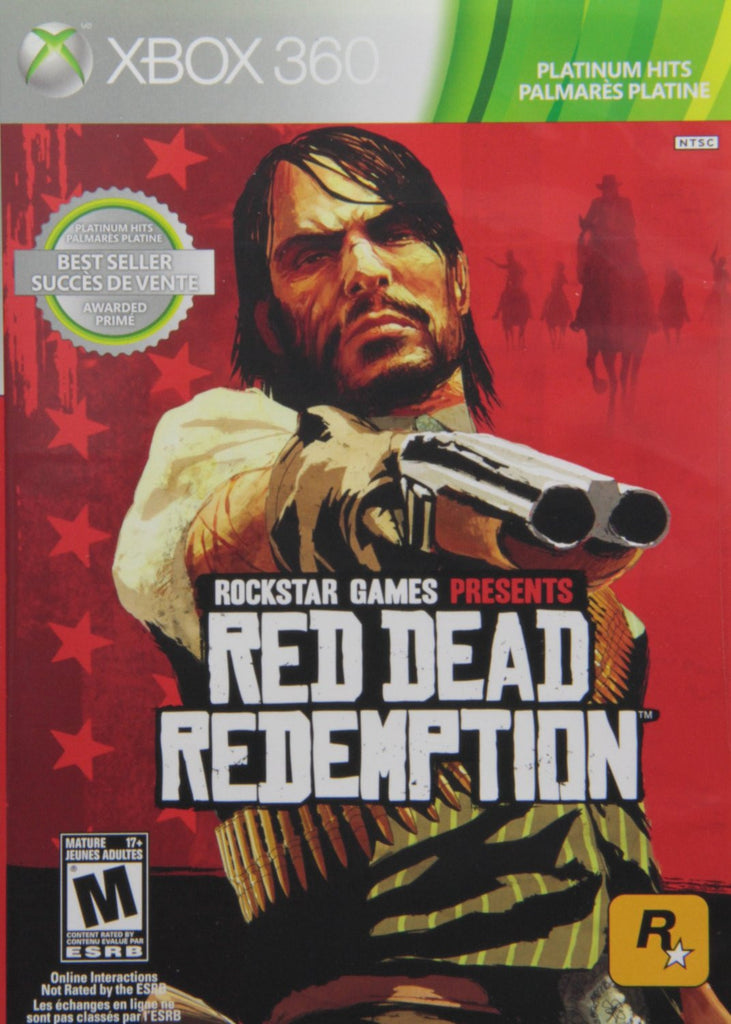 Red Dead Redemption For Xbox 360 (Physical Disc)