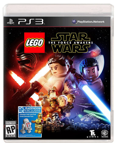 LEGO Star Wars: The Force Awakens - Standard Edition For PlayStation 3 (Physical Disc)