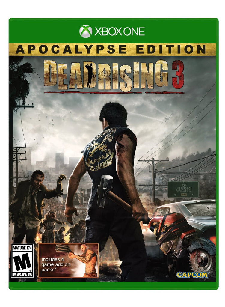 Dead Rising 3: Apocalypse Edition For Xbox One (Physical Disc)