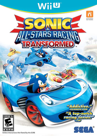Sonic & All-Stars Racing Transformed For Wii U (Physical Disc)