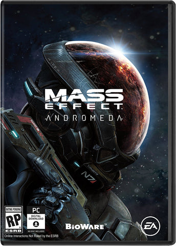 Mass Effect Andromeda Pre-Order For PC (Physical Disc)