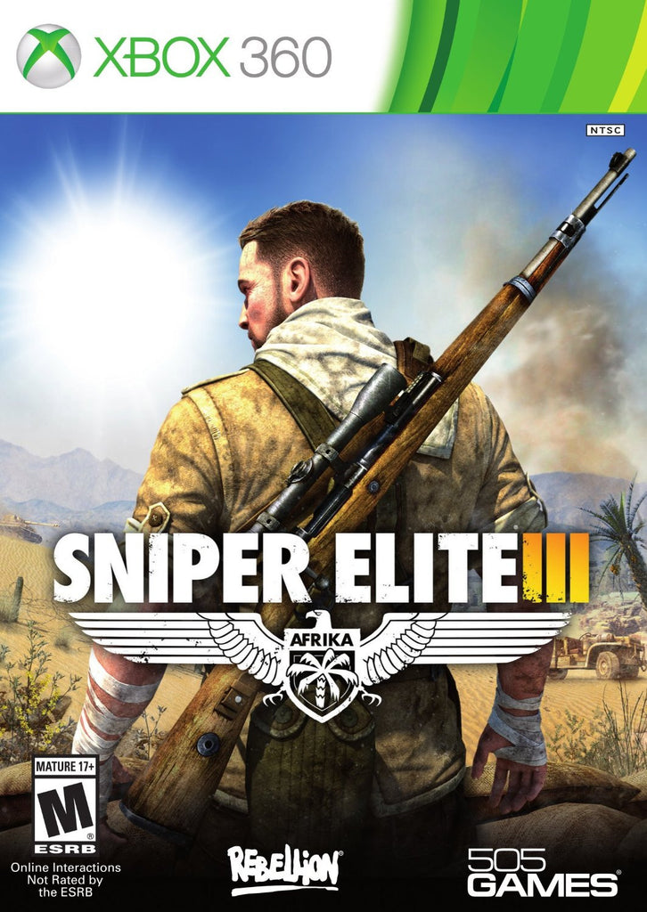 Sniper Elite III For Xbox 360 (Physical Disc)