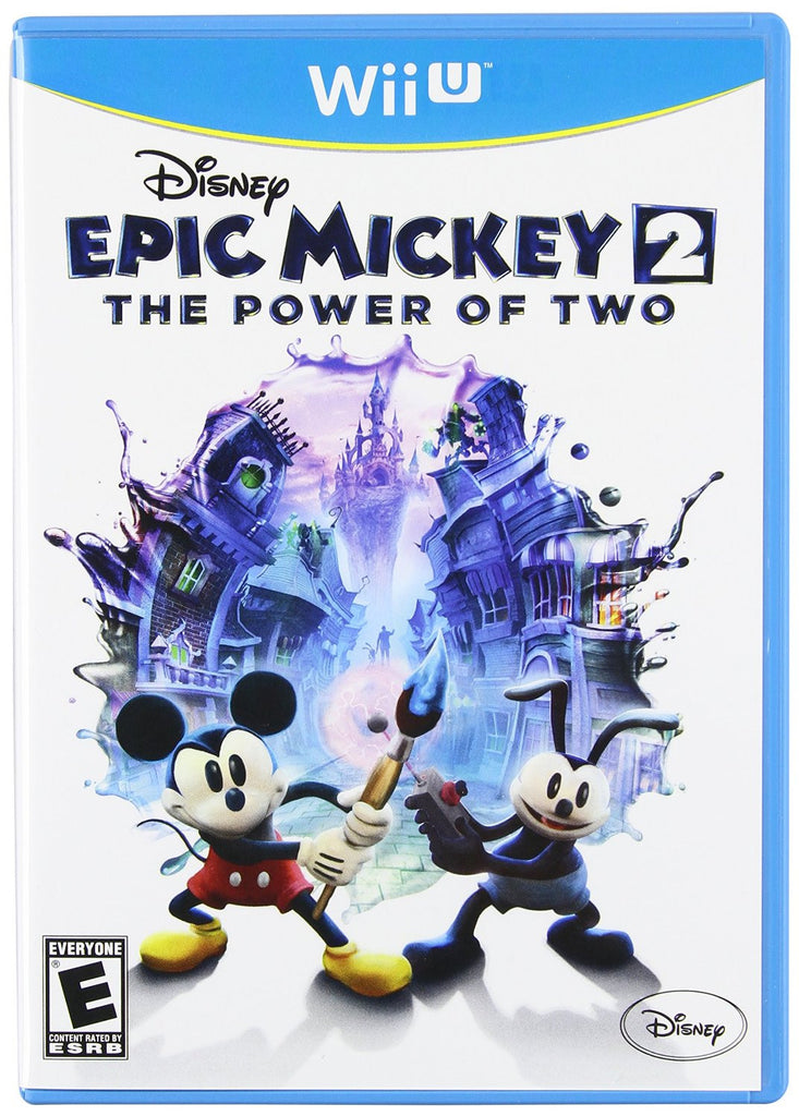 Epic Mickey 2: The Power of Two For Wii U (Physical Disc)