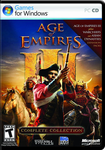 Age of Empires III Complete Collection Windows PC Game Download Steam CD-Key Global