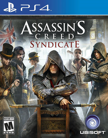 Assassin's Creed Syndicate For PlayStation 4 (Physical Disc)