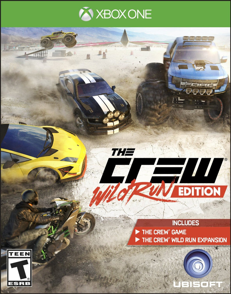 The Crew Wild Run Edition For Xbox One (Physical Disc)