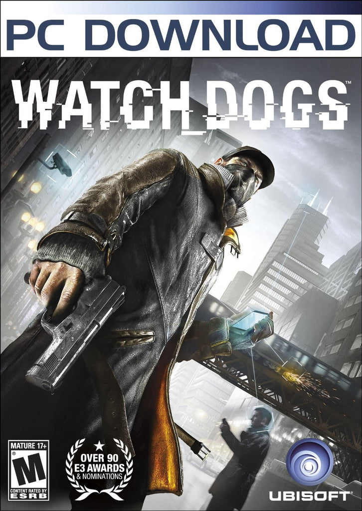 Watch Dogs Windows PC Game Download Uplay CD-Key Global