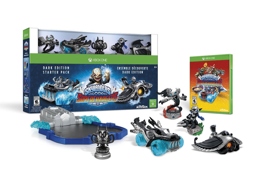 Skylanders SuperChargers Dark Edition Starter Pack For Xbox One (Physical Disc)