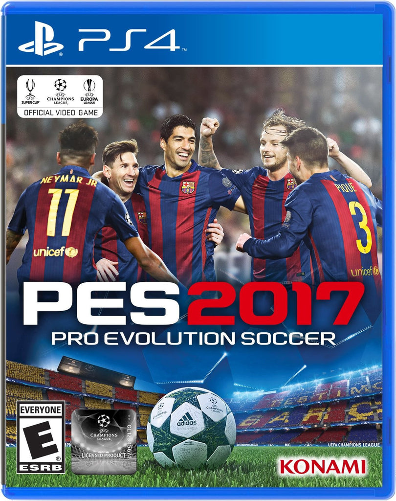 Pro Evolution Soccer 2017 For PlayStation 4 (Physical Disc)