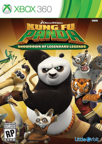 Kung Fu Panda: Showdown of Legendary Legends For Xbox 360 (Physical Disc)