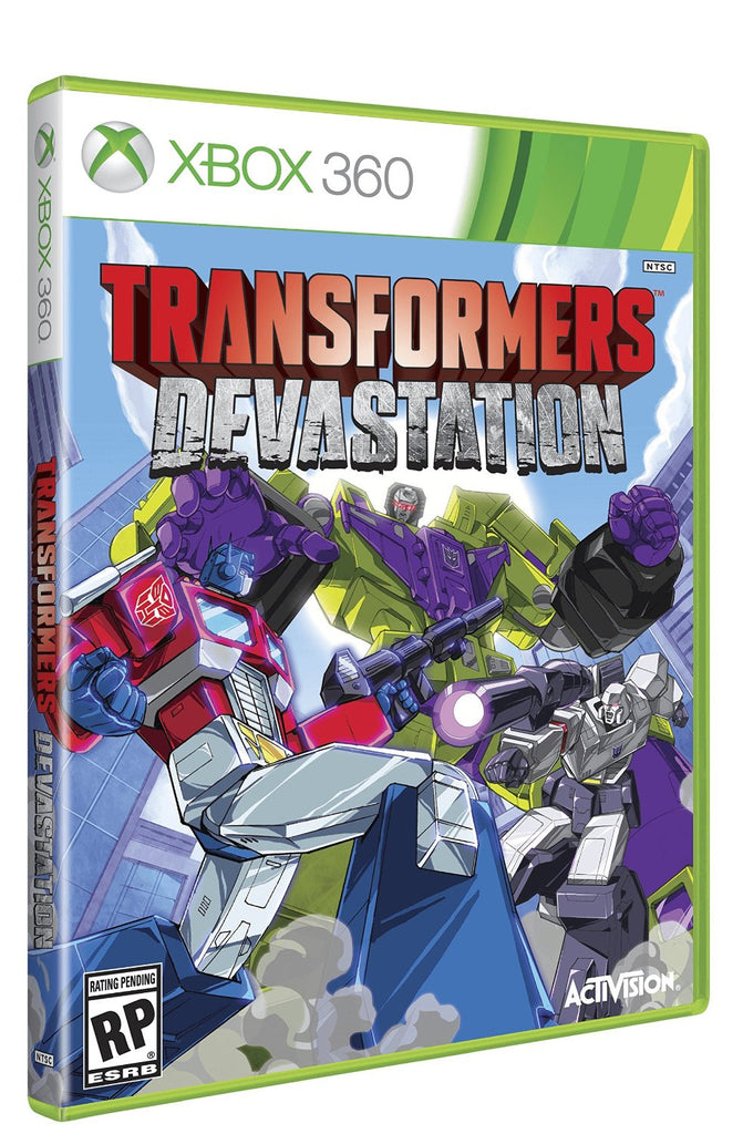 Transformers Devastation For Xbox 360 (Physical Disc)