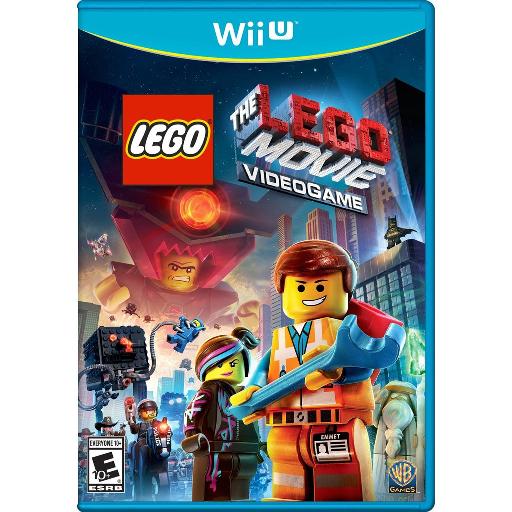 The LEGO Movie Videogame For Wii U (Physical Disc)