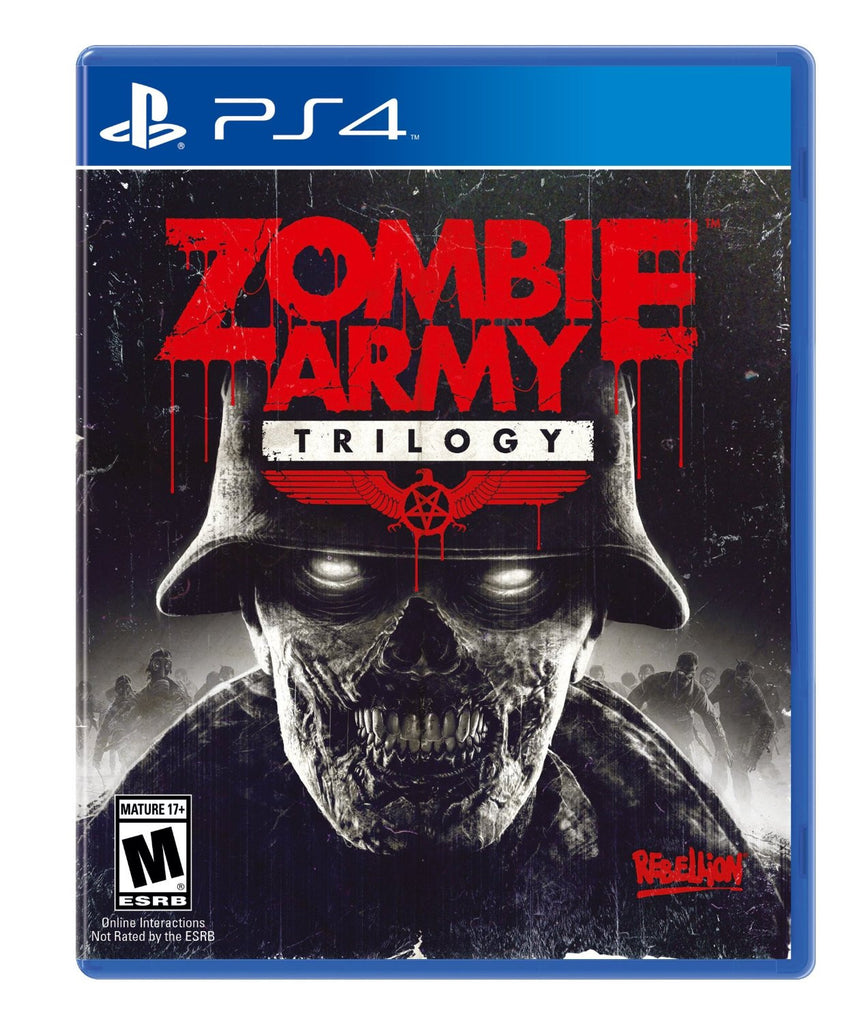 Zombie Army Trilogy For PlayStation 4 (Physical Disc)