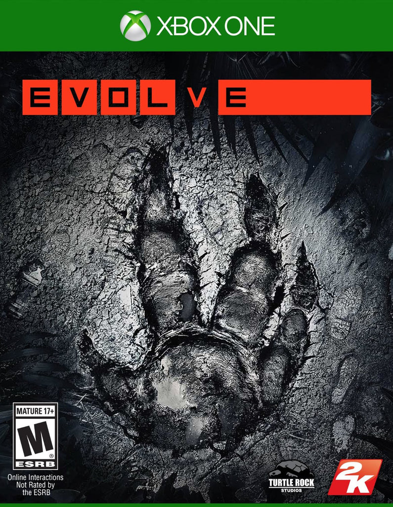 Evolve For Xbox One (Physical Disc)