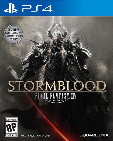 Final Fantasy XIV: Stormblood Pre-Order For PlayStation 4 (Physical Disc)