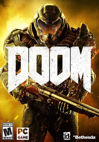 Doom For PC (Physical Disc)