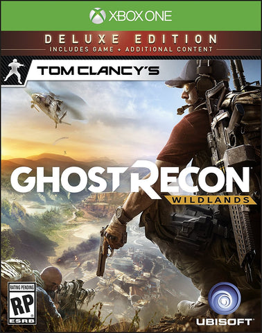 Tom Clancy's Ghost Recon Wildlands Deluxe Edition For Xbox One (Physical Disc)