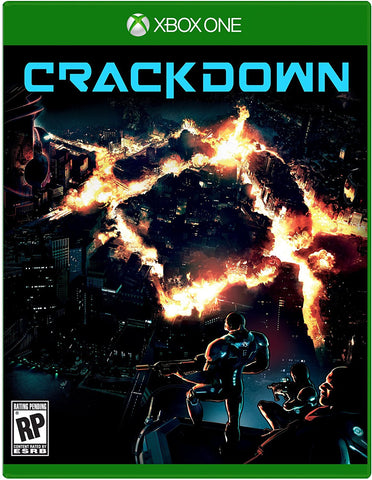 Crackdown 3 Pre-Order For Xbox One (Physical Disc)