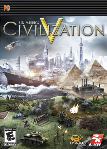 Sid Meier's Civilization V Windows PC/Mac Game Download Steam CD-Key Global
