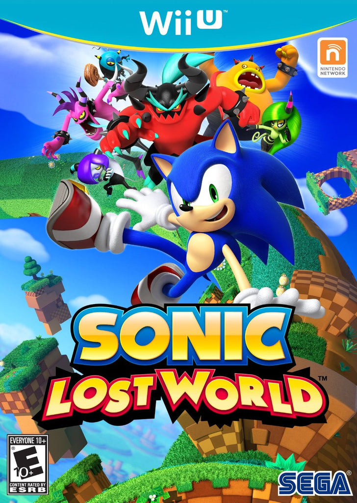 Sonic Lost World For Wii U (Physical Disc)
