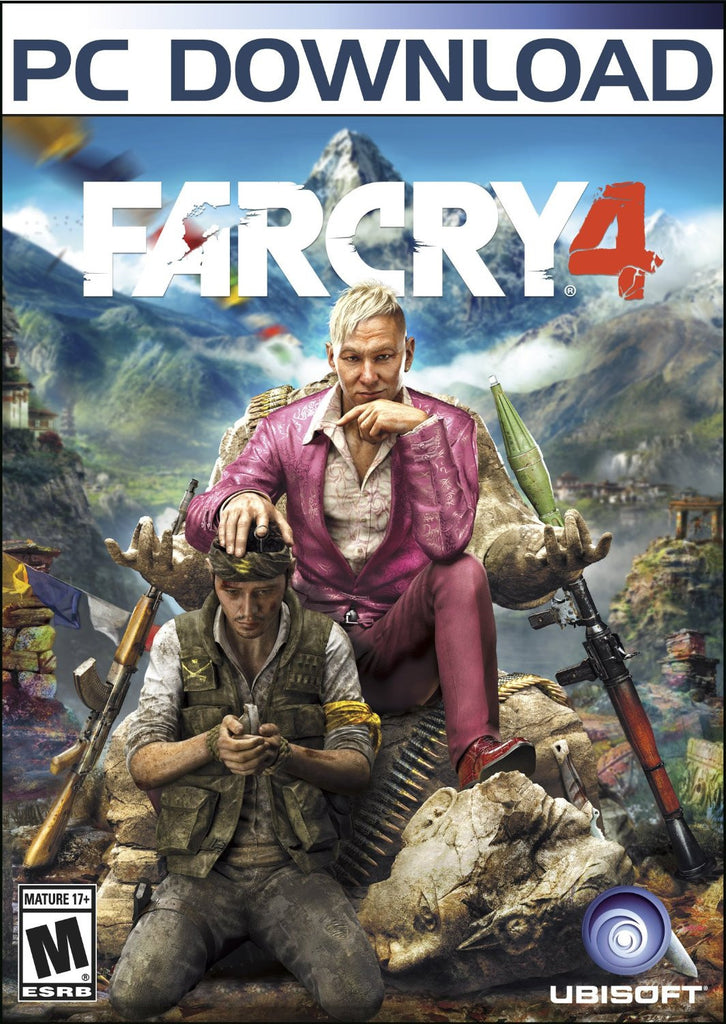 Far Cry 4 Windows PC Game Download Steam CD-Key Global
