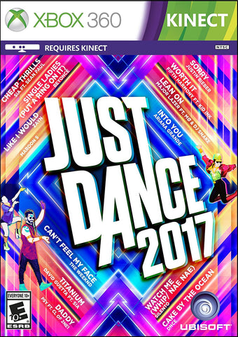 Just Dance 2017 For Xbox 360 (Physical Disc)