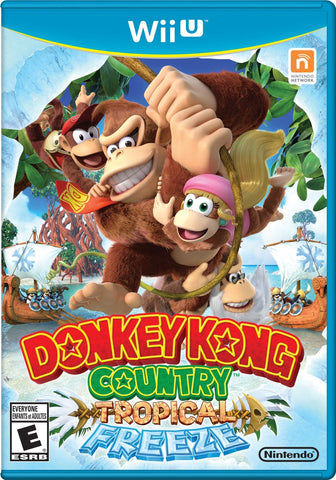Donkey Kong Country Tropical Freeze For Wii U (Physical Disc)