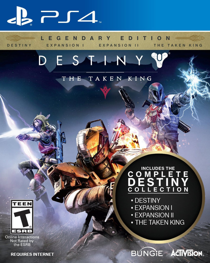 Destiny: The Taken King - Legendary Edition For PlayStation 4 (Physical Disc)