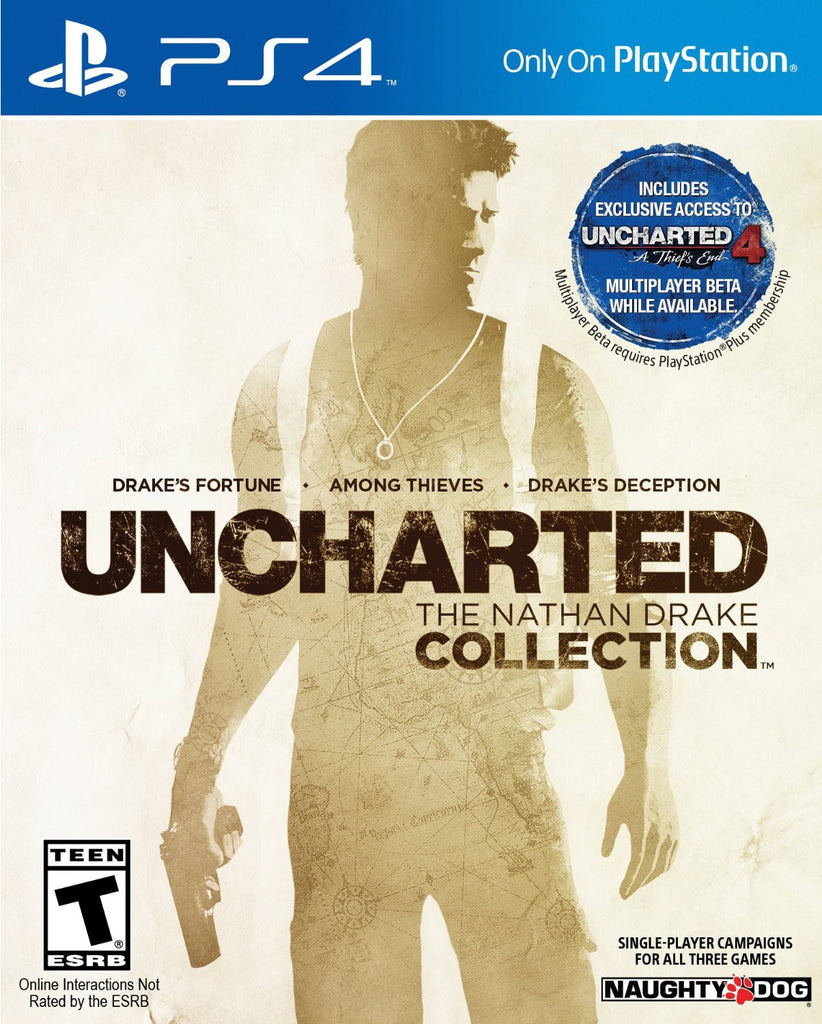UNCHARTED: The Nathan Drake Collection For PlayStation 4 (Physical Disc)