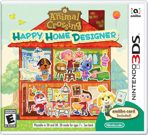 Animal Crossing: Happy Home Designer For 3DS (Physical Cartridge)