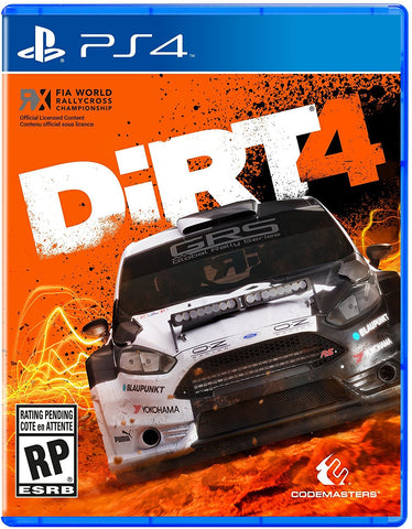 DiRT 4 Pre-Order For PlayStation 4 (Physical Disc)