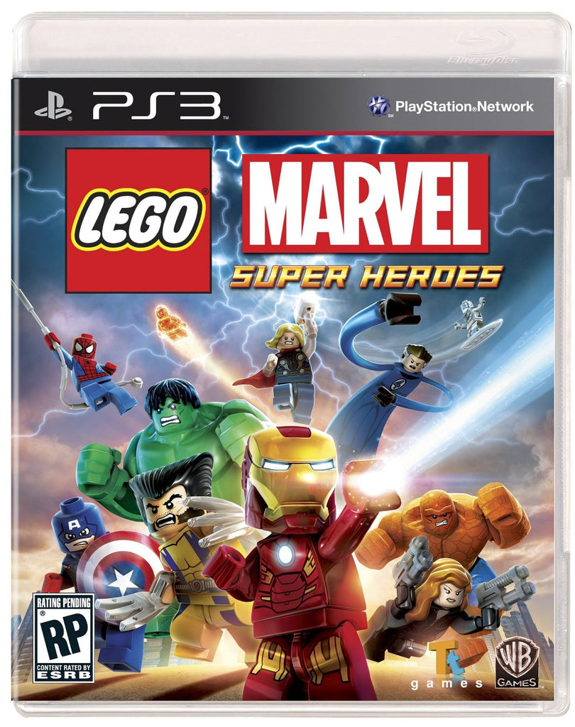 LEGO: Marvel Super Heroes For PlayStation 3 (Physical Disc)