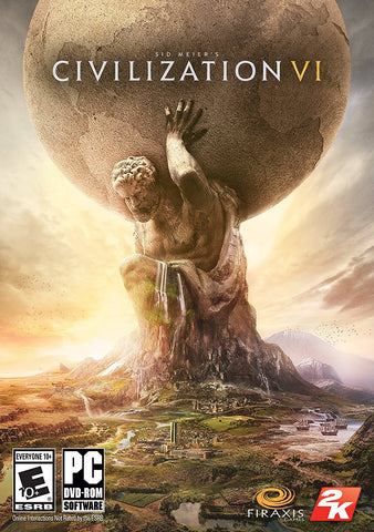 Sid Meier's Civilization VI For PC (Physical Disc)