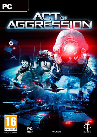 Act of Aggression Windows PC Game Download Steam CD-Key Global