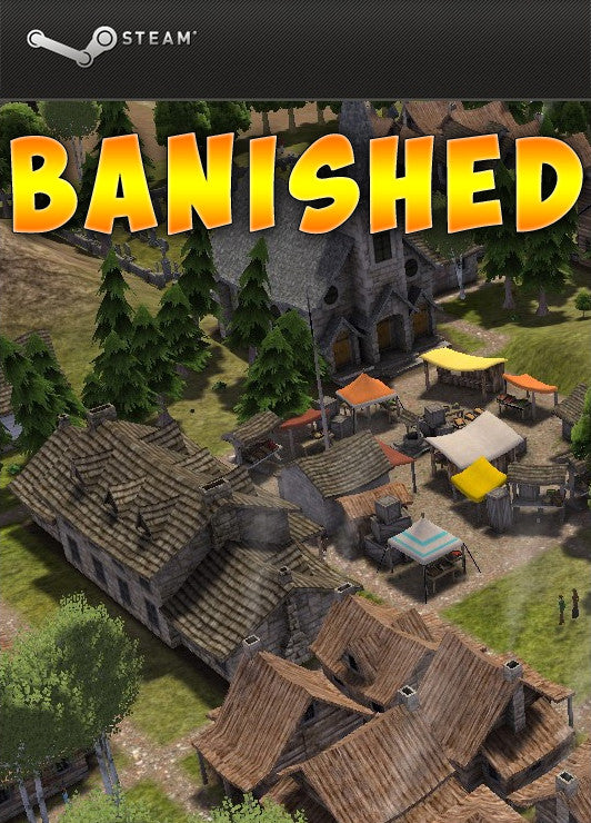 Banished Windows PC Game Download Steam CD-Key Global