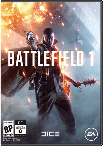 Battlefield 1 Windows PC Game Download Origin CD-Key Global