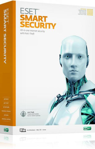 ESET Smart Security 1 Year Global License Product Key - Digital Download