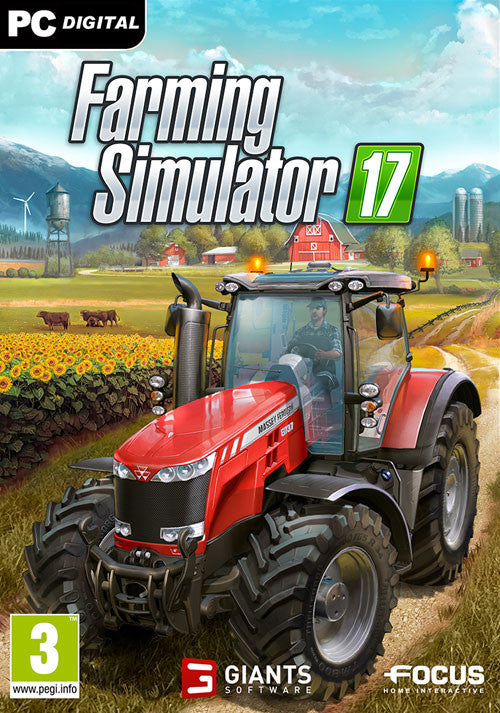 Farming Simulator 17 Windows PC Game Download Steam CD-Key Global