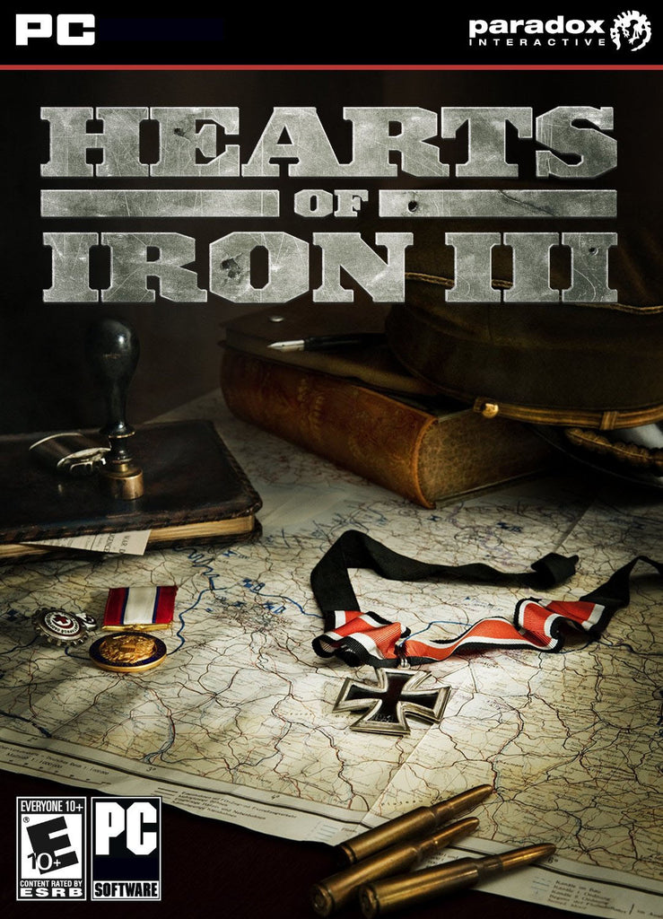 Hearts of Iron III Windows PC Game Download Steam CD-Key Global