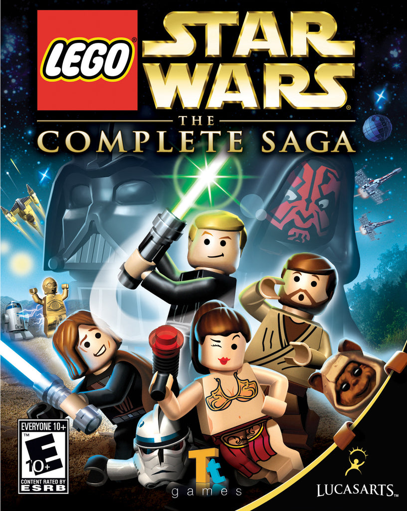 LEGO Star Wars: The Complete Saga Windows PC Game Download Steam CD-Key Global