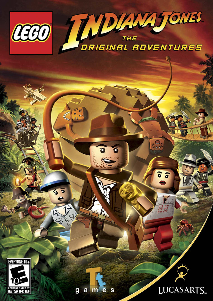 LEGO Indiana Jones: The Original Adventures Windows PC Game Download Steam CD-Key Global