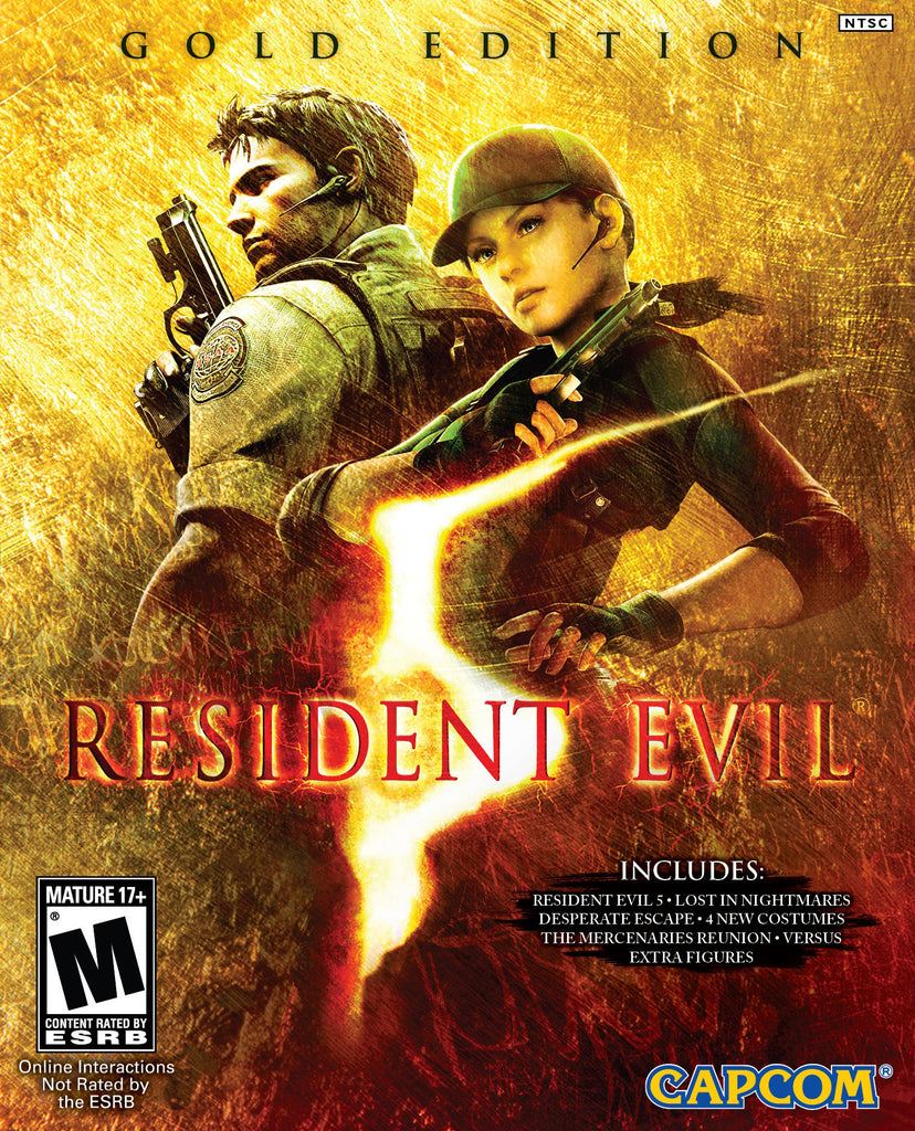 Resident Evil 5: Gold Edition Windows PC Game Download Steam CD-Key Global