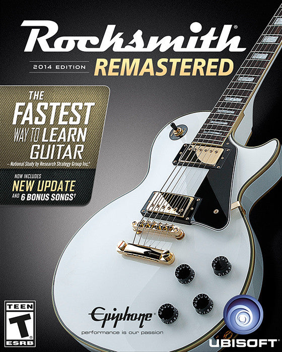 Rocksmith 2014 Edition - Remastered Windows PC Game Download Steam CD-Key Global