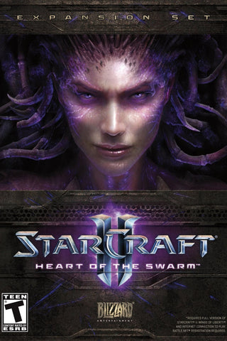 StarCraft II: Heart of the Swarm Windows PC Game Download Battle.net CD-Key Global